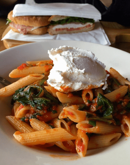 15 cheap places to eat in new york city by www.fromlusttilldawn.com pepe rosso to go pasta
