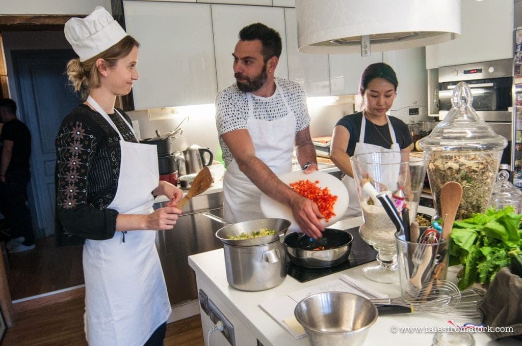 cooking class in lyon with thierry through vizeat cheflyon.fr