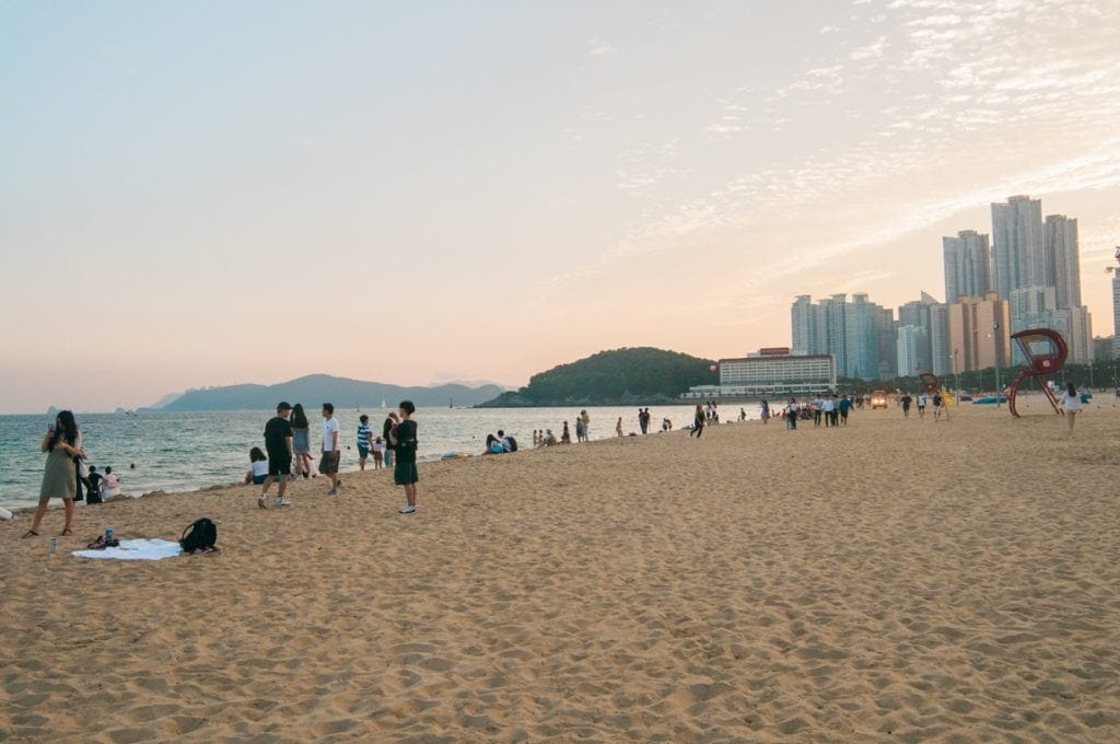 Ocean View RoomIf you want close access to the beach and a great ocean view room, check out Hotel Novotel Busan Ambassador in Busan, South Korea!