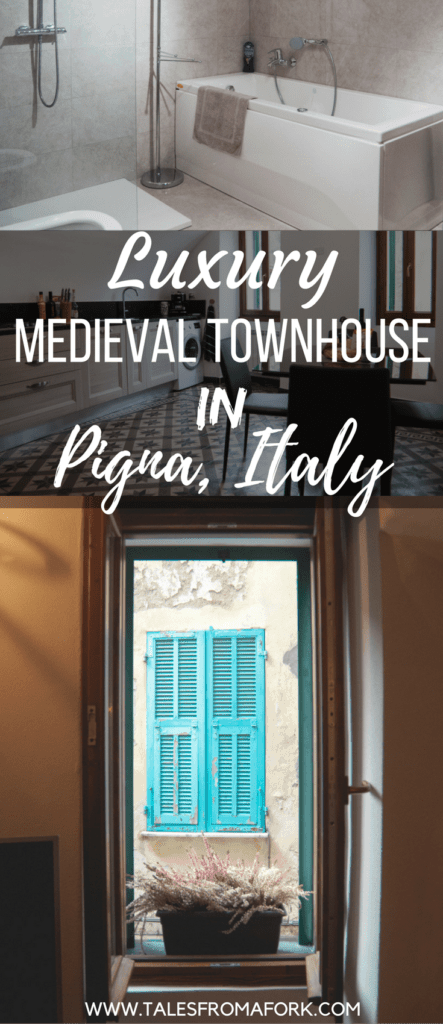 Pigna is truly a wondrous place to get lost in medieval cobblestone streets, hike in beautiful mountains, and eat delicious food. It even has a luxury medieval townhouse to stay in with a full kitchen and bathtub with jets! Click through to find out why you should go to Pigna, or at the very least, get inspired by these amazing photos.