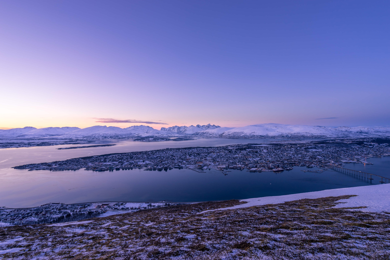 tromso norway blue skies cold snow lust 'till dawn www.fromlusttilldawn.com