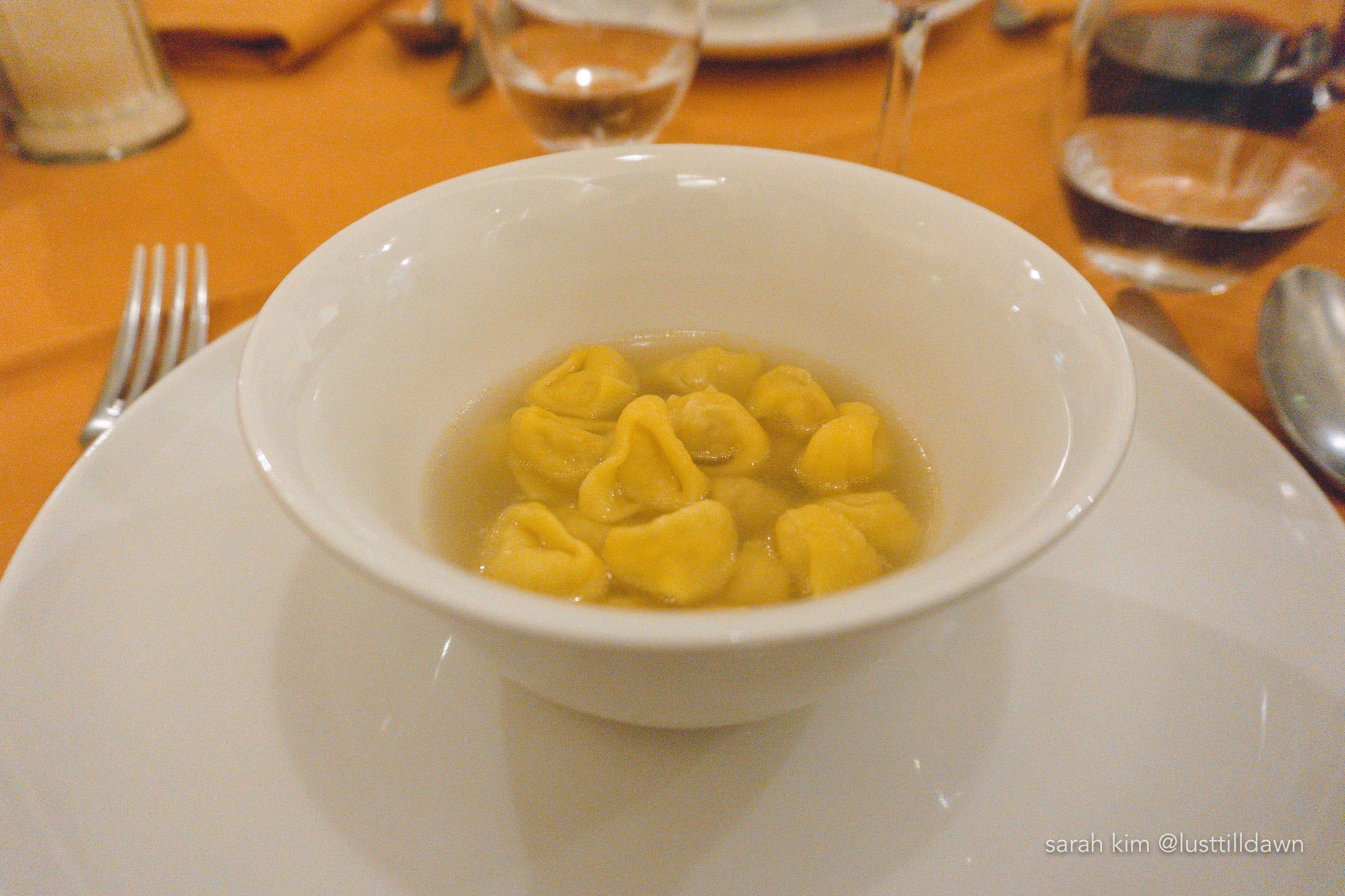tortellini en brodo food tour in bologna delicious bologna