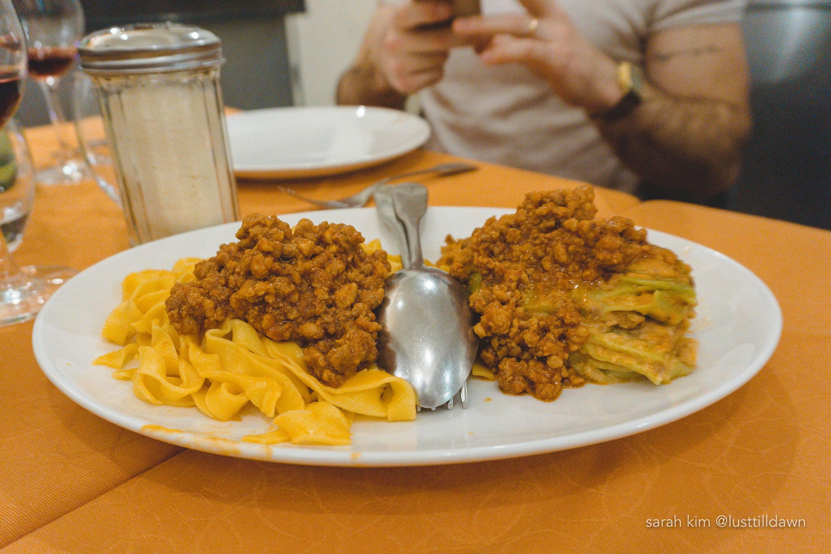 food tour in bologna delicious bologna lasagna tagliatelle bolognese