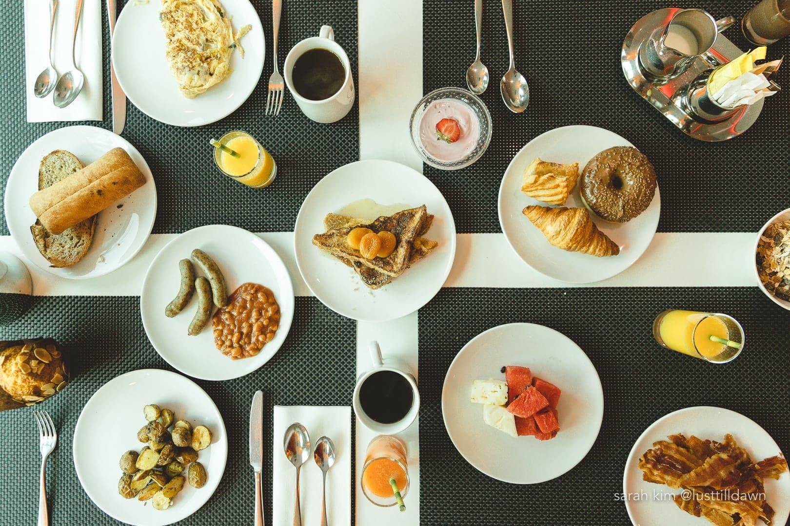u by uniworld food brunch breakfast