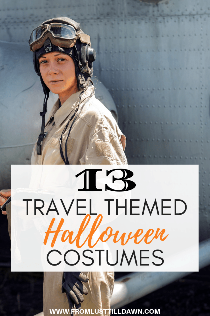 travel halloween costume