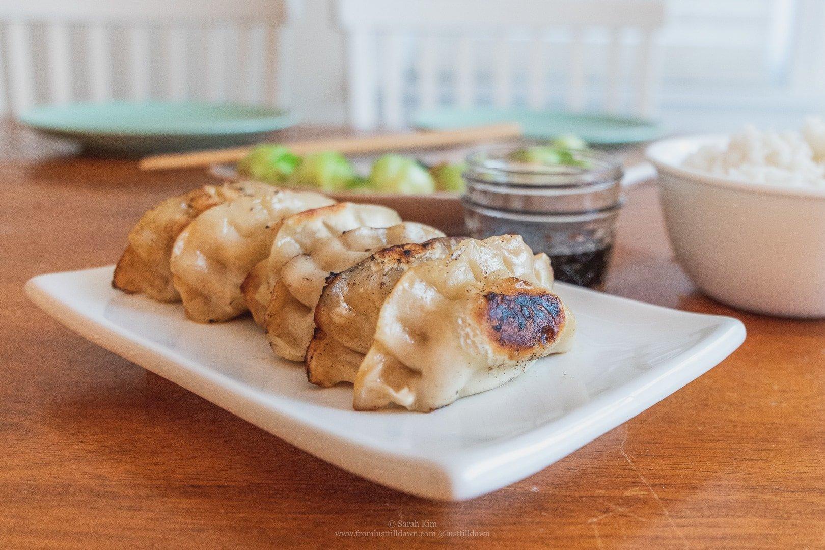 ling ling pork and vegetable dumplings