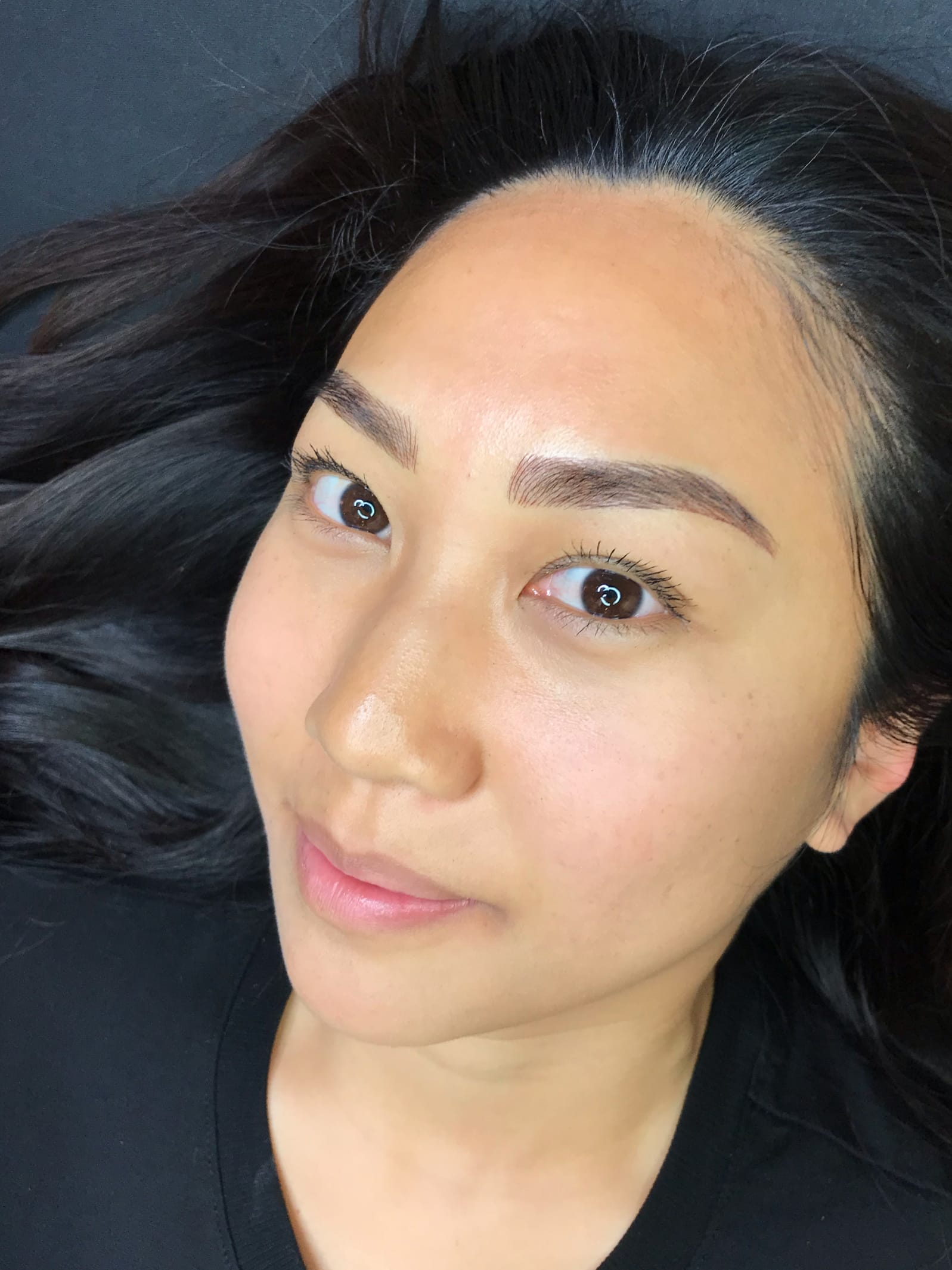 what eyebrows look right after best microblading NYC