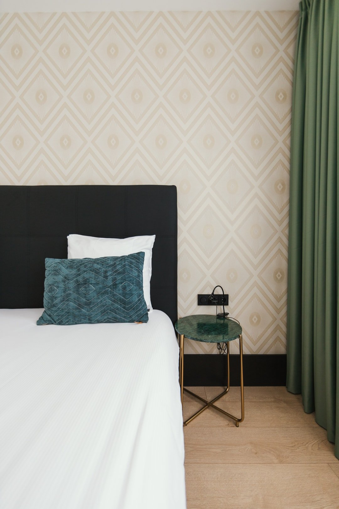 comfort double bedroom at the james hotel in rotterdam