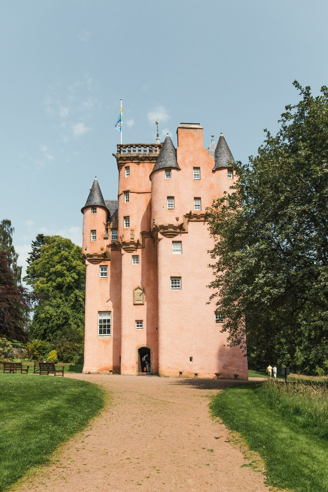 Craigiever Castle, one of the most Instagrammable places in Scotland, best places for landscape photography in scotland