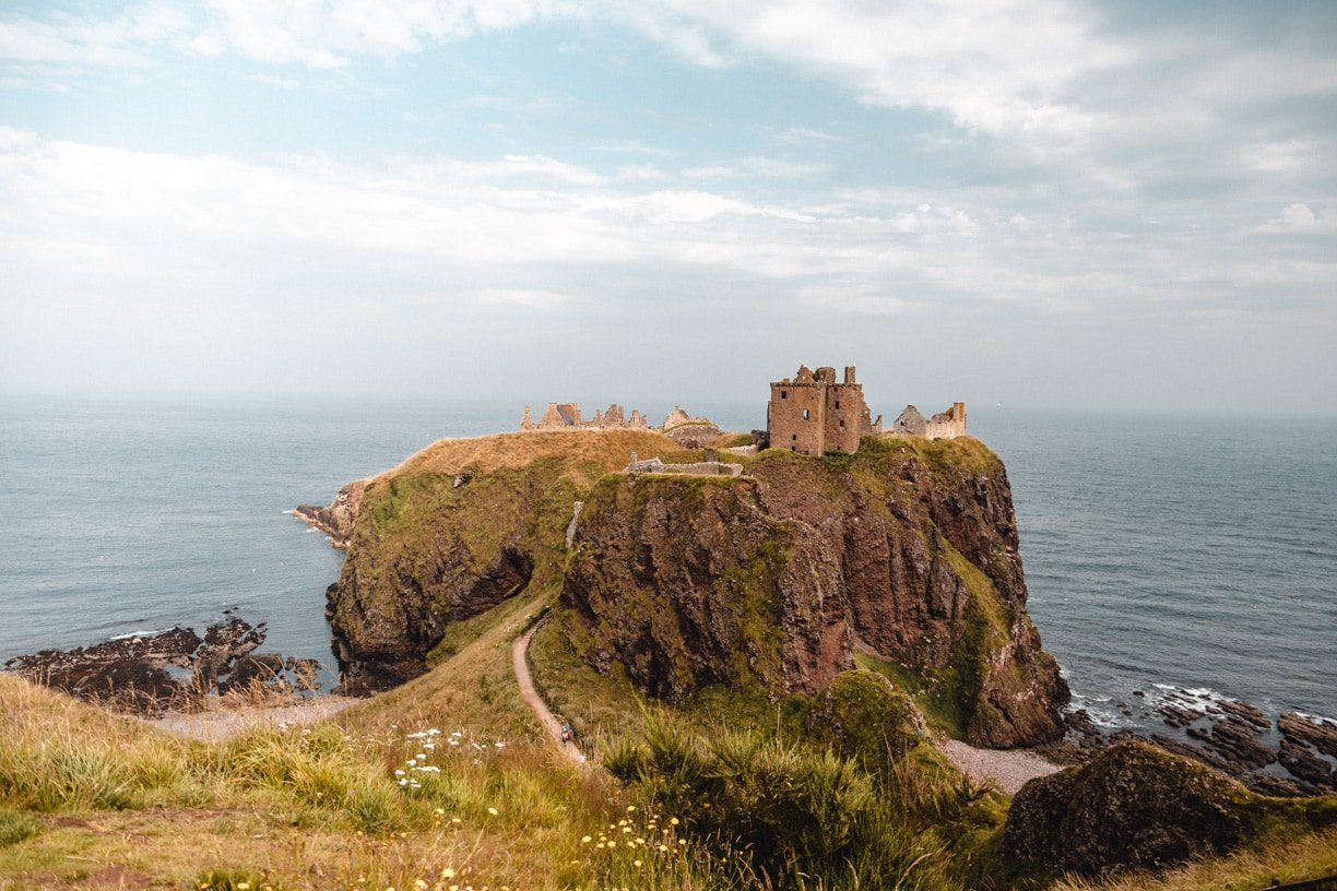 Dunnottar Castle is a must-visit place in my Scotland travel guide