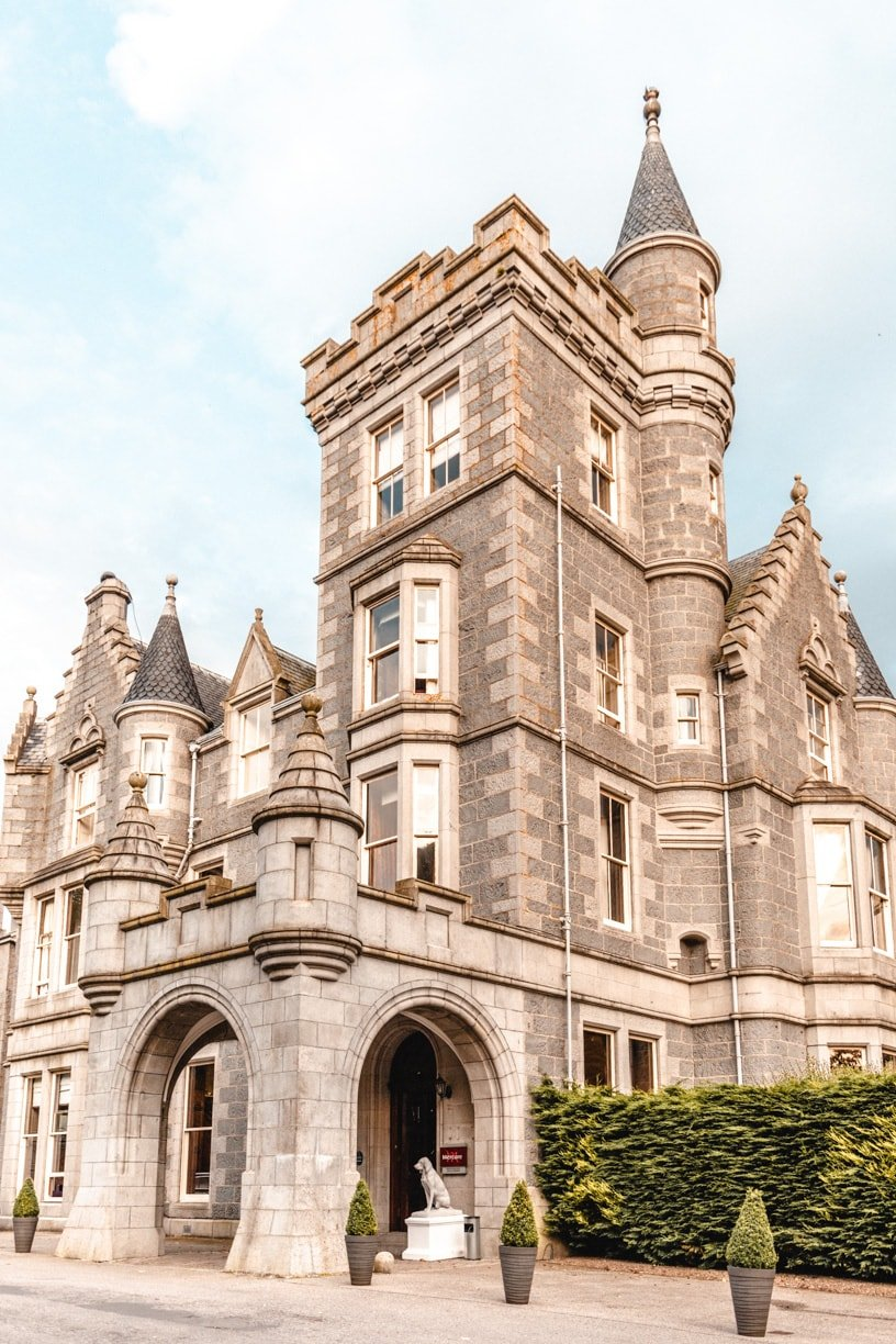 Stay in a castle while visiting Aberdeen