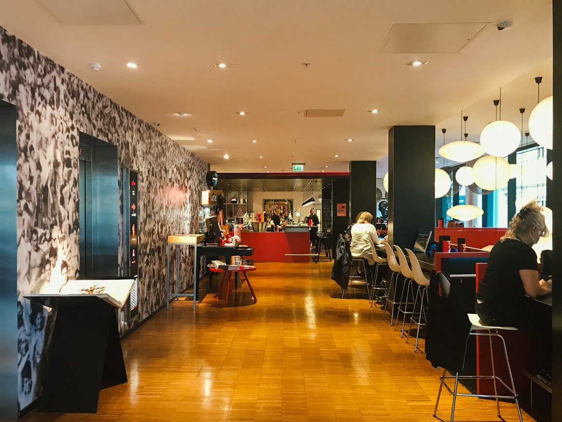 The CitizenM Hotel is the best place to stay in Glasgow in my Scotland travel guide