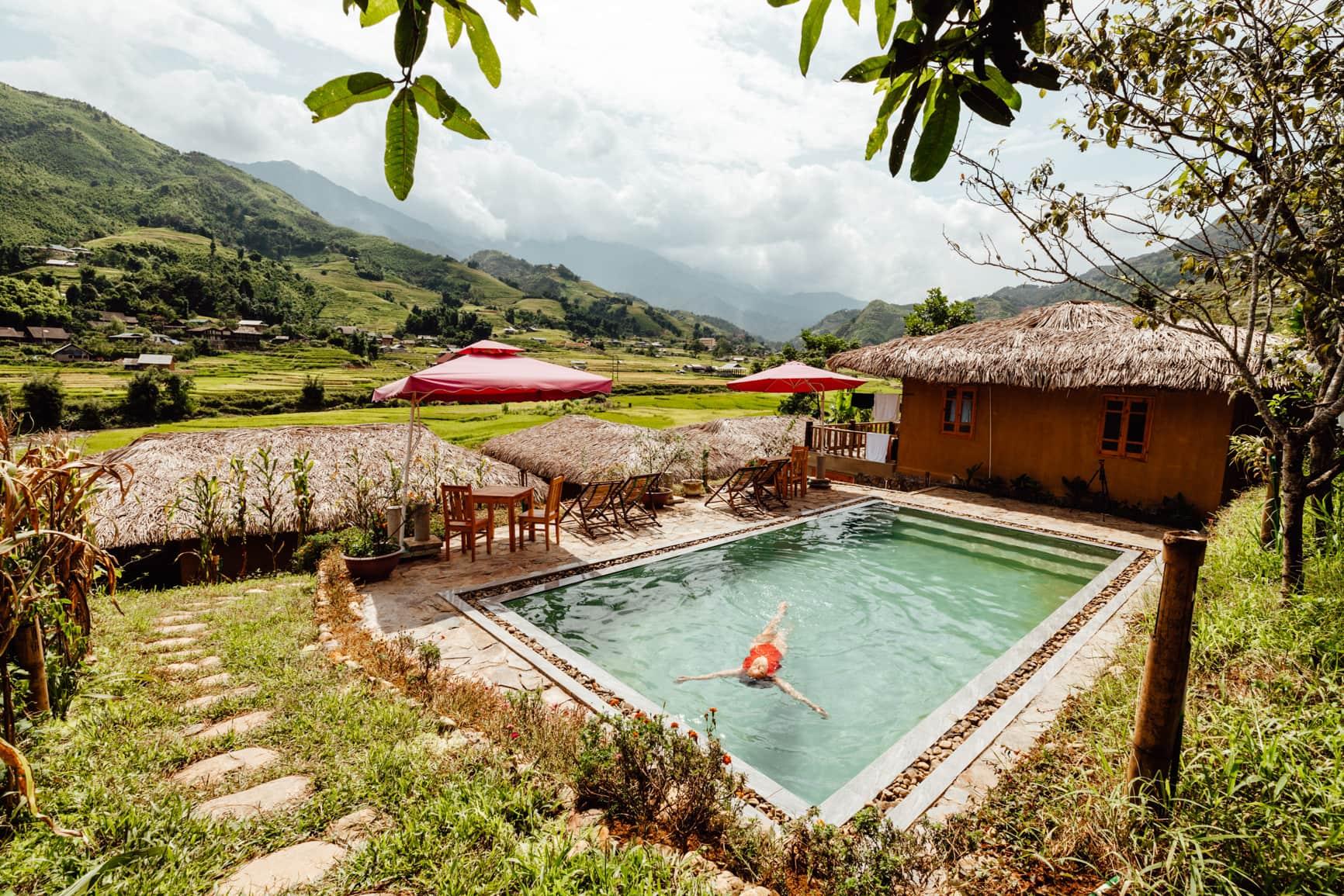 sapa eco bungalows in sapa vietnam