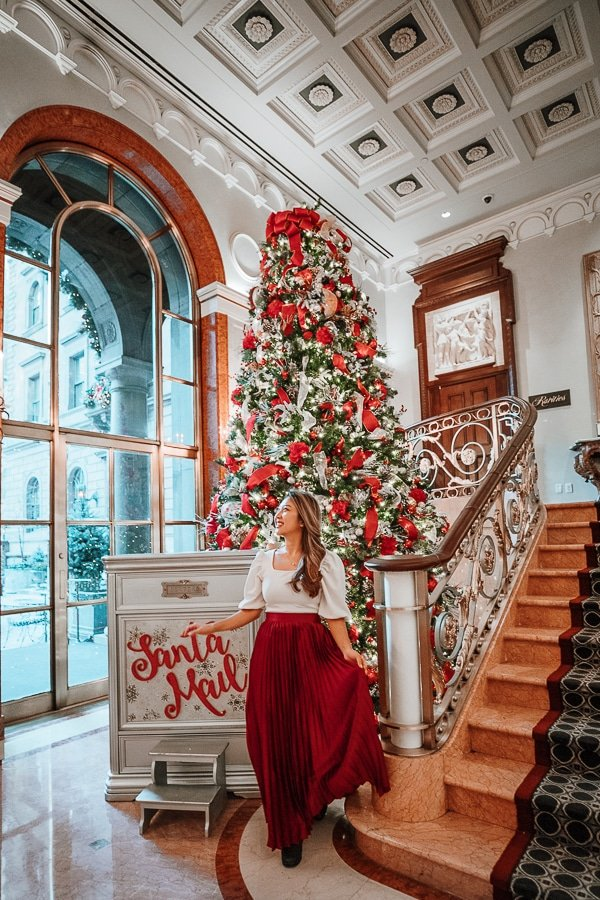 instagram spot for christmas lotte palace