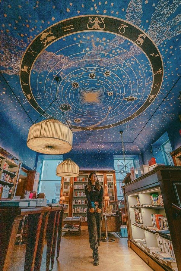 albertine bookstore, one of NYC instagram spots