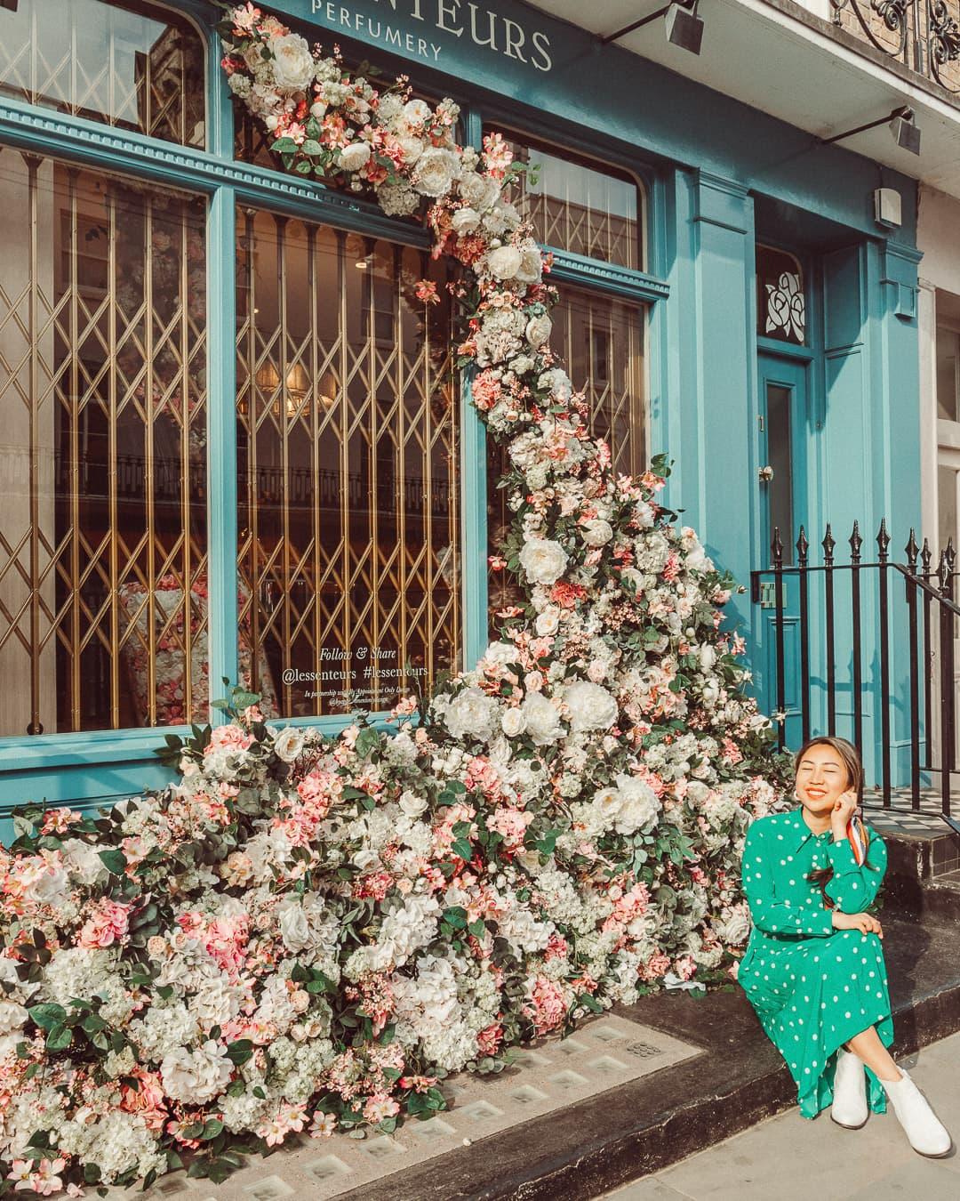 most instagrammable places in london les senteurs